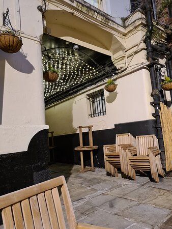Rigby's courtyard