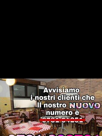Nuovo look e Nuovo numero di telefono al Bar Trattoria Il Nido dell'Aquila a Buggerru