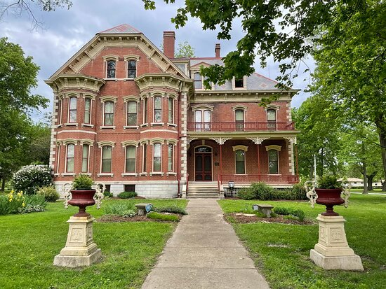 Altamont, IL: The 1889 home features 18 rooms of furniture and collectibles belonging to the three generations of the Wright family who built and lived in the home from 1889 to 2001. The home was built to be virtually self-sufficient with a gas lighting system, a water system, sanitary and storm sewer system, and a central steam-heating system. Open for tours since 2003 Listed on the National Register of Historic Places