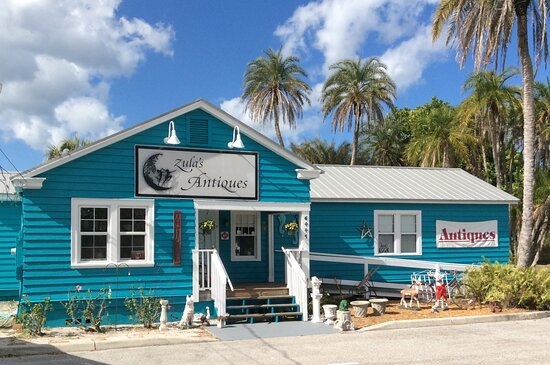 Zula's Antiques on Terra Ceia Island, Florida.  Antiques, art, collectibles, furniture and much more.