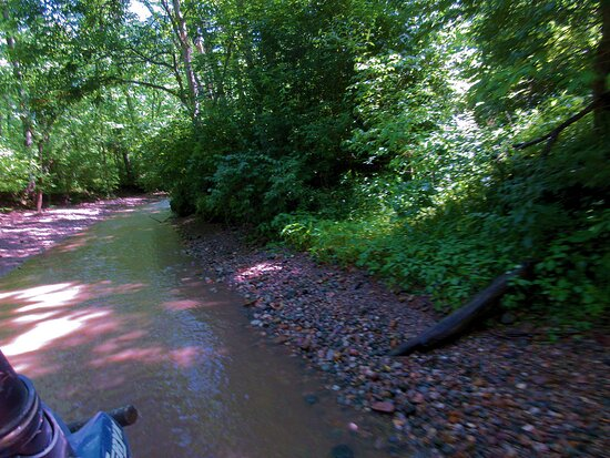 Attica, IN: creek