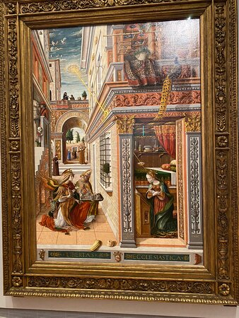 C. Crivelli - Annunciation of Sanit Emidius - a must see!