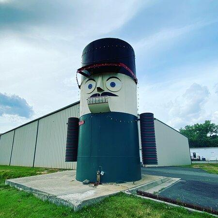 Giant Nutcracker Head