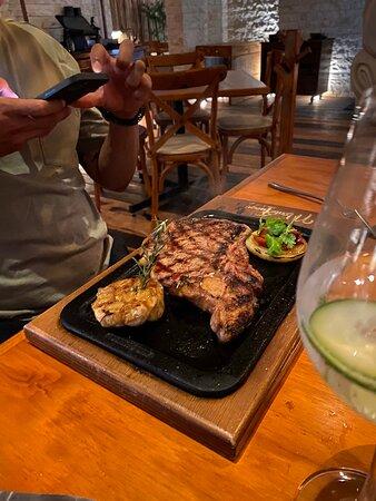 Nice dinner in Bacalar
