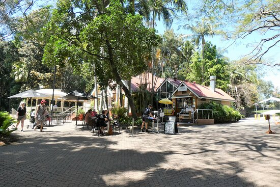 The Gardens Club is nestled in a secluded spot in the beautiful Brisbane City Botanic Gardens.