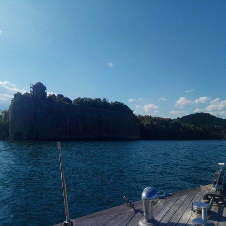 Una gita in barca molto piacevole