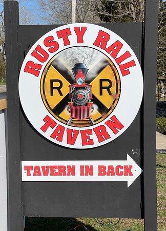 Deep River, CT: Road sign