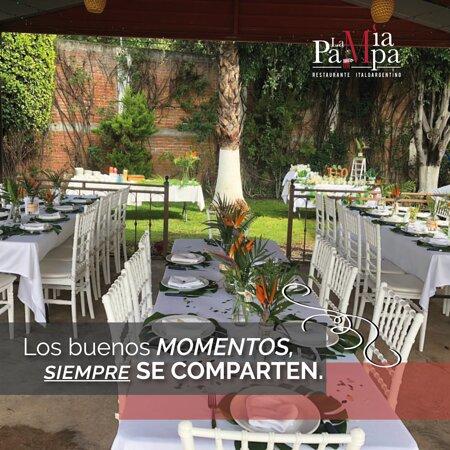¿𝑩𝒖𝒔𝒄𝒂𝒔 𝒖𝒏 𝒑𝒐𝒄𝒐 𝒅𝒆 𝒂𝒊𝒓𝒆 𝒇𝒓𝒆𝒔𝒄𝒐?🌲🌳☘️  ¡Ven y disfruta de nuestras 𝒕𝒆𝒓𝒓𝒂𝒛𝒂𝒔!😎  🤩 ¡Los mejores sabores, sólo en la Mía Pampa!