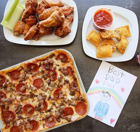 Lexington Park, MD: Ledo Pizza, Wings, and Toasted Ravioli