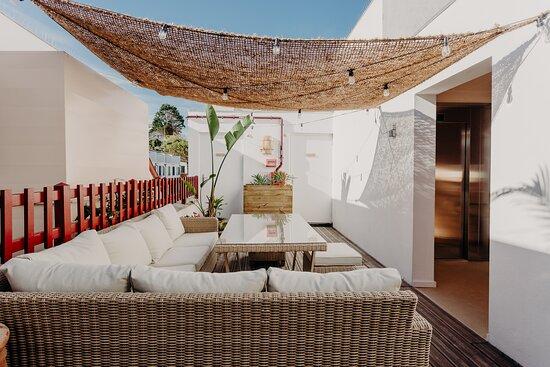 Suite Palmito - Terrasse extérieure - Rooftop