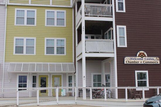 Belhaven, Carolina del Norte: Our Welcome center!