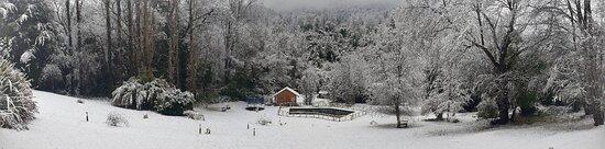 Recinto, Chile: Foto del Parque de Villalduna en Invierno