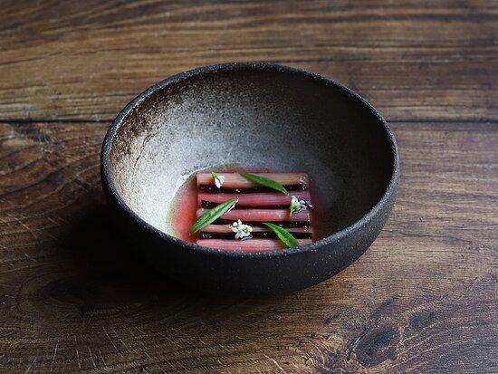 Rhubarb and sweet woodruff