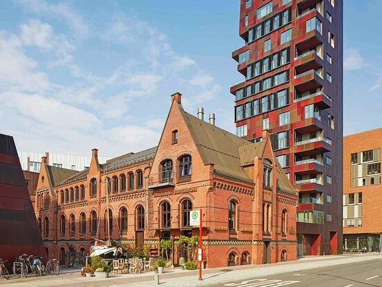 25hours Hotel Altes Hafenamt, hoteles en Hamburgo