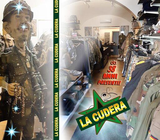 La Cudera Militaria Abbigliamento Articoli & Ricami Militari-Caccia-Softair