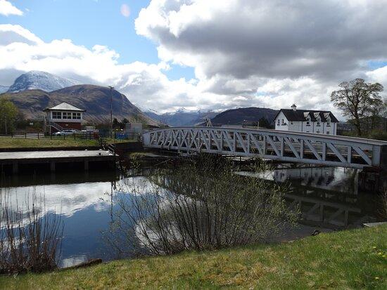 Banavie Rail Swing Bridge