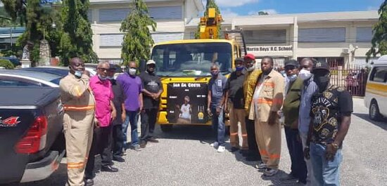 Diego Martin, Trinidad: Sending of one of our brothers Dacosta, T&TEC.