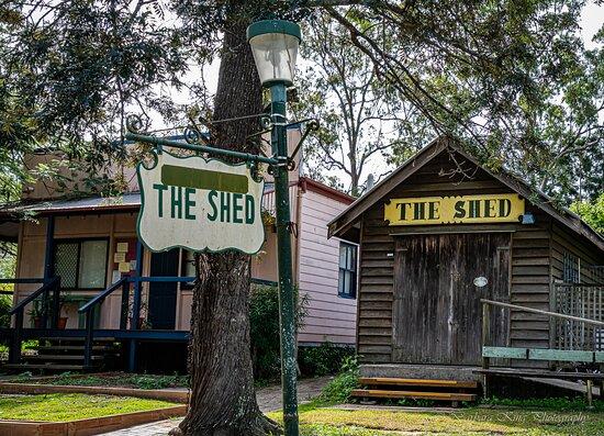 Whiteside, Úc: Closed shed