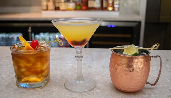 Enjoy our crafted cocktails list.