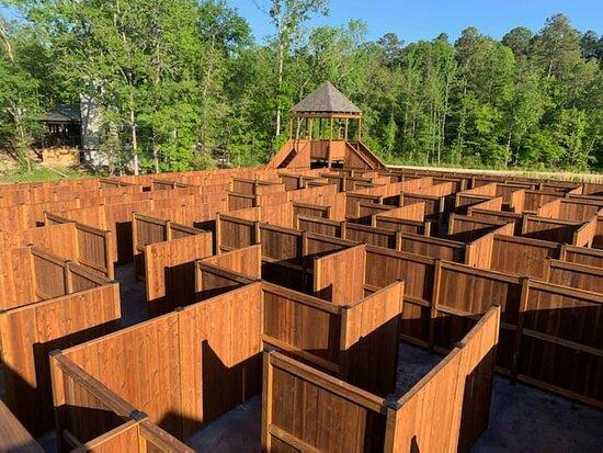 The Maze Of Hochatown