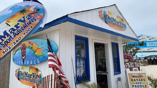 Check in at our paddle shack if you are paddle with us on the Rehoboth Bay in Dewey Beach.  We have accessories here for your paddling needs such as cell phone dry packs, cold water and sunglasses safety straps.