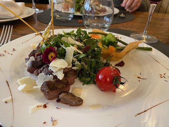 Charrat, Suisse : Tagliata d'entrecôte de boeuf