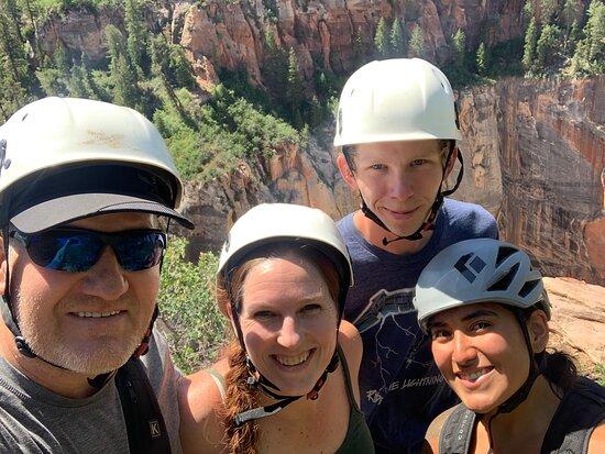 Angels Leading Ledgewalk - Utah Adventure Center