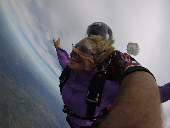 Cushing, OK: The best experience. Thank you Oklahoma Skydiving. I will be back.
