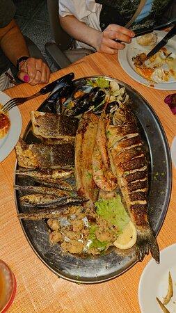 Palm Mar, España: Mixed Fish