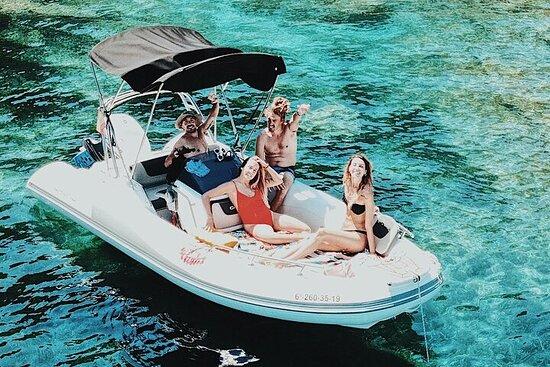 Alquiler de barcos sin licencia en Mallorca