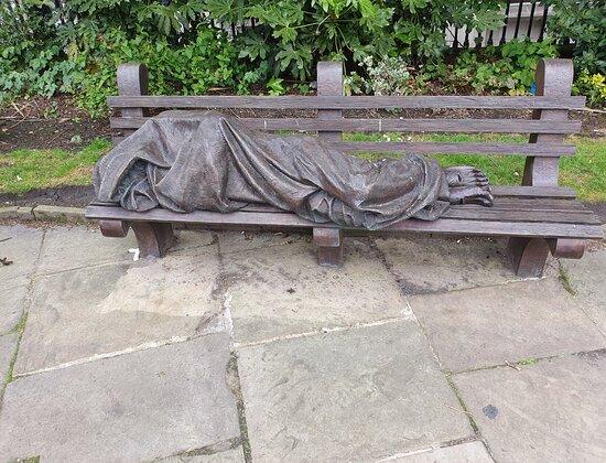 Liverpool Parish Church Gardens
