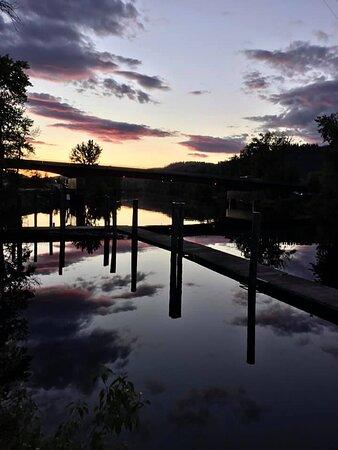 Saint Maries, ID: Beautiful sunset