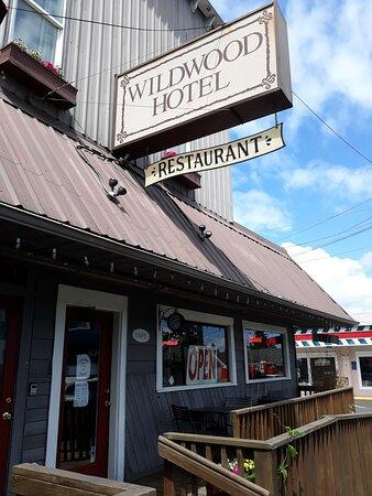 Willamina, OR: The main entrance.