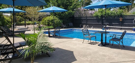 West Harwich, MA: 20'x40' pool and outdoor shower