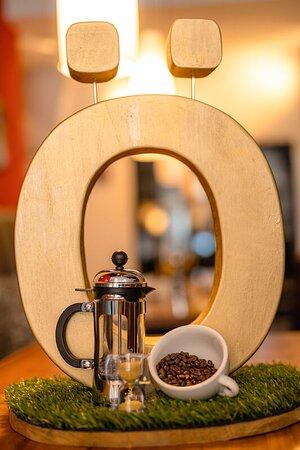 Hufingen, Alemania: French Press Kaffee