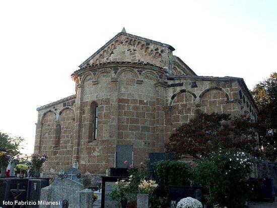 Milis, Italia: San Paolo: prospetto absidale