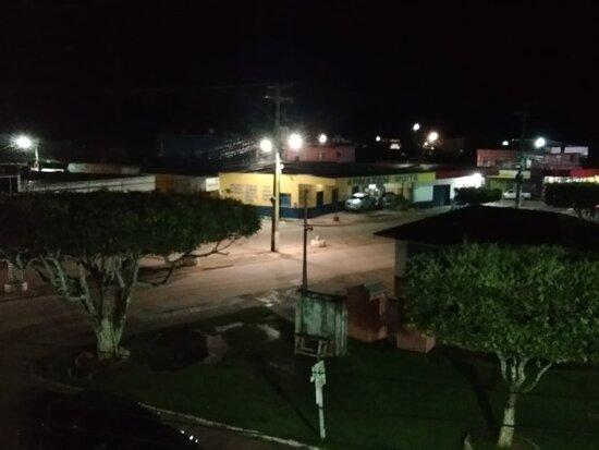 Careiro, AM: Vista da varanda do apartamento.