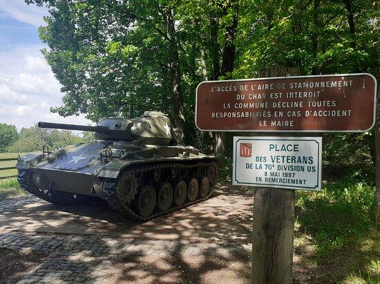 Amerikanischer Panzer 1945