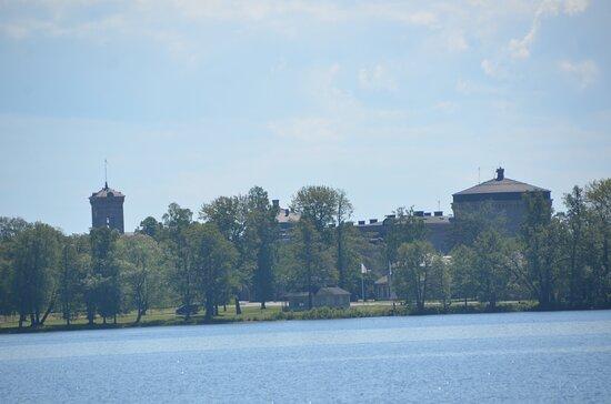 Utsikt mot Karlsborgs fästning