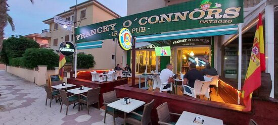 New location francey o'connors 2021   169 paseo colon can picafort  Live music Amazing food Live sports
