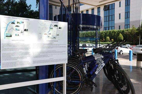 Blu Route cycling