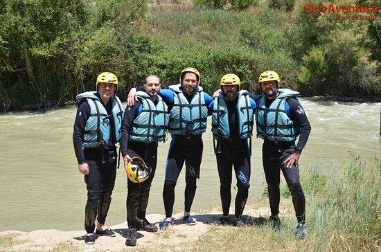 Cuevas Bajas, Espagne: El grupito!!