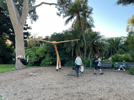 Fitzroy Gardens Playground