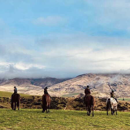 Foto Small-Group Gold Discovery Horse Riding in Cardrona Valley