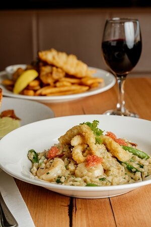 Kilmore, Úc: Seafood Risotto With Finger Lime