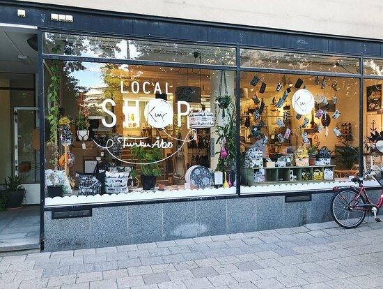 טורקו, פינלנד: New Kui shop in Kristiinankatu 6