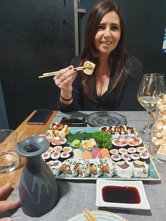 Friday sushi..