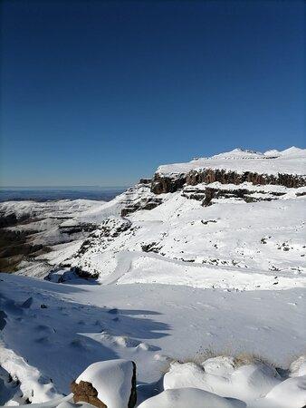 Sani Pass, Lesotho: Snowfall, June 2021