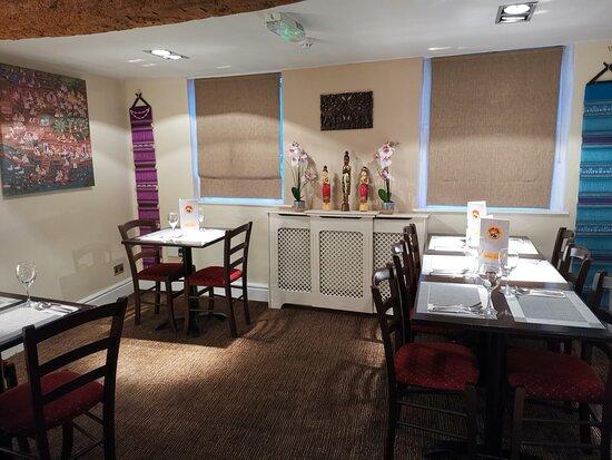 Restaurant first floor seat