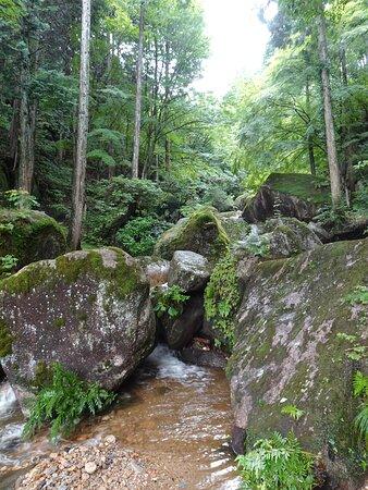 PrefeituradeGifu , Japão: 入口には「鬼岩公園」の文字が